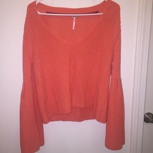 NWT Free People Bell Sleeve Sweater